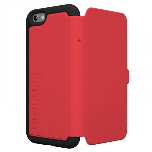 COLORANT C3 غطاء ملف لأيفون 6 بلاس - احمر
