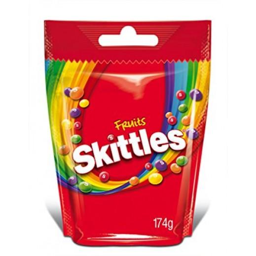 سكيتليز - حلوى الفواكة الطبيعية 174 جم