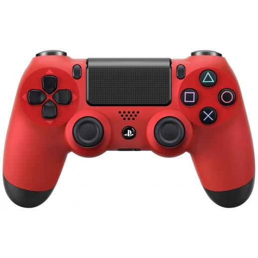 سوني – يد التحكم اللاسلكية Dualshock 4  - الصهارة الأحمر