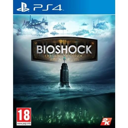لعبة BIOSHOCK: THE COLLECTION لجهاز PS4 نظام PAL