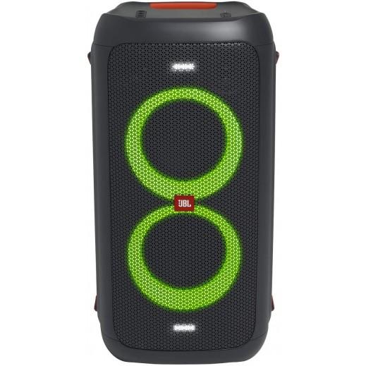 جي بي إل – سماعة PartyBox 100 لاسلكية بلوتوث محمولة 160 واط – أسود