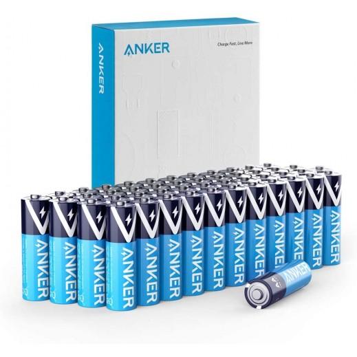 أنكر – بطارية ألكالين فئة AAA عبوة 48 حبة