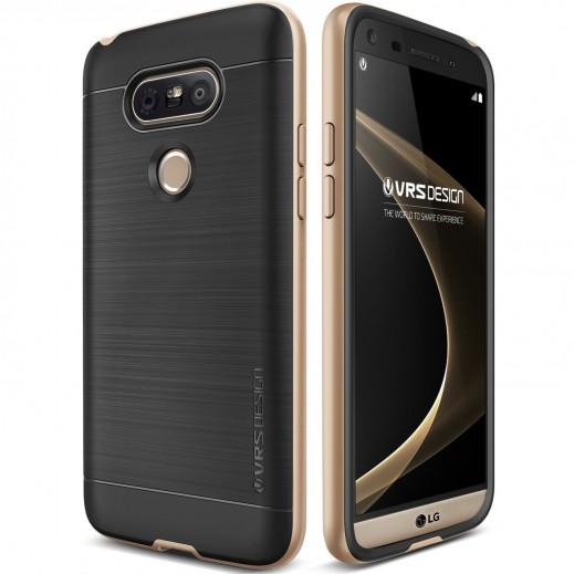غطاء حماية فيروس HIGH PRO SHIELD لجهاز LG G5 ذهبي مشرق
