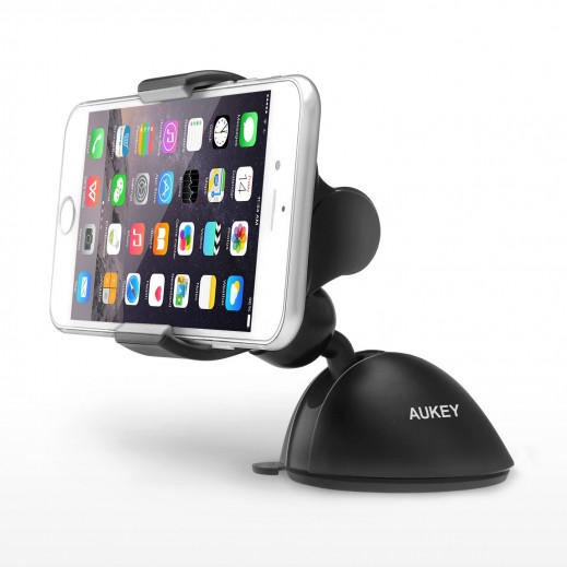 Aukey Car Mount Holder Cradle for iPhone 6S Plus, 6S, Samsung Galaxy  HD-C11