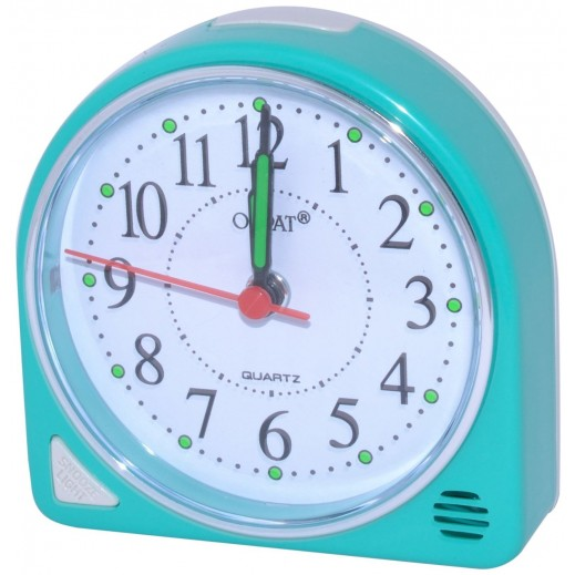أوربات – ساعة منبه مع إضاءة وغفوة –  أزرق فاتح