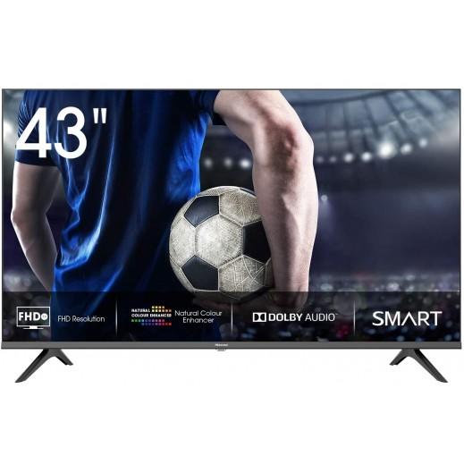 هايسنس – تلفزيون ذكي FHD قياس 43 بوصة – أسود - يتم التوصيل بواسطة AL ANDALUS بعد 3ايام عمل