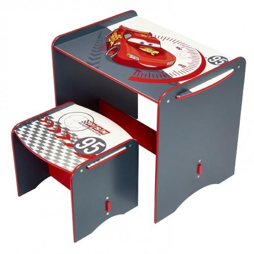 مكتب وكرسي للأطفال بتصميم سيارات السرعة من ديزنى  - يتم التوصيل بواسطة Taby Group