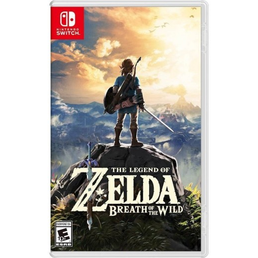 لعبة The Legend of Zelda: Breath of the Wild لجهاز Nintendo Switch