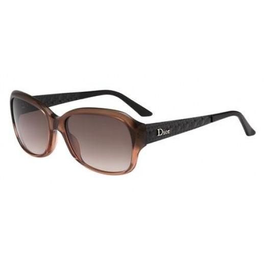 ديور - نظارة شمسية Coquette للسيدات - بني - 56 مم  - يتم التوصيل بواسطة Waleed Optics