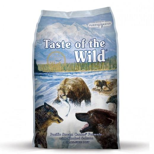 تيست أوف ذا وايلد – طعام الكلاب الصغيرة مع السلمون المدخن 13 كجم