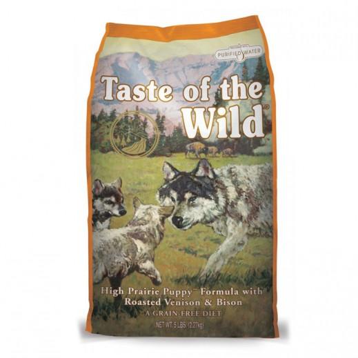 تيست أوف ذا وايلد – طعام الكلاب الصغيرة مع لحم البيسون والغزال المحمر 13 كجم