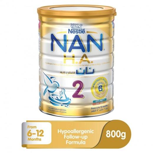 نان - غذاء حليب متابع  للرضُع بالحديد مرحلة 2 (من 6 حتى 12 شهر) 800 جم