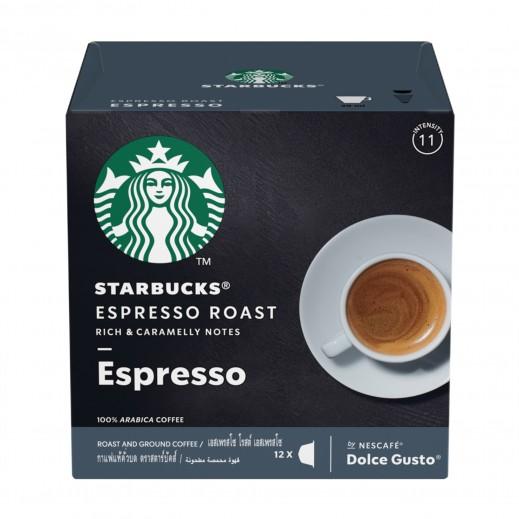 ستاربكس – قهوة دارك روست اسبريسو داكنة 12 غلاف