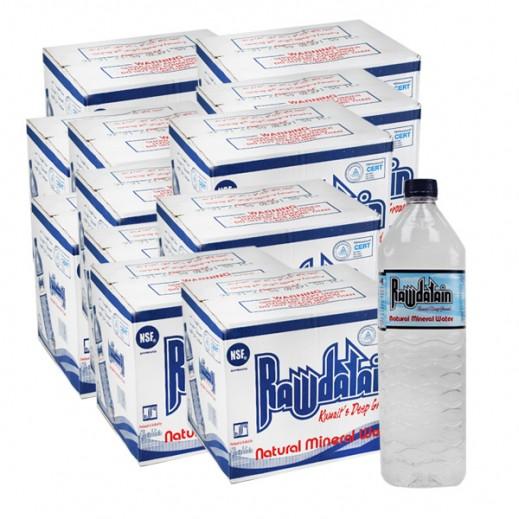 روضتين - مياه معدنية طبيعية - 1.5 لتر (10 × 12) – أسعار الجملة
