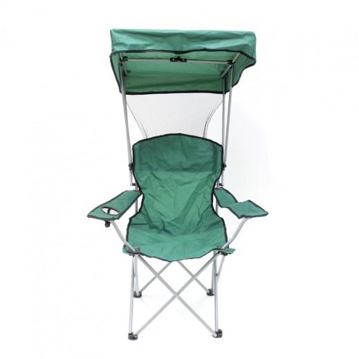 ألكو – كرسي بمظلة قابل للطي في شنطة – أخضر