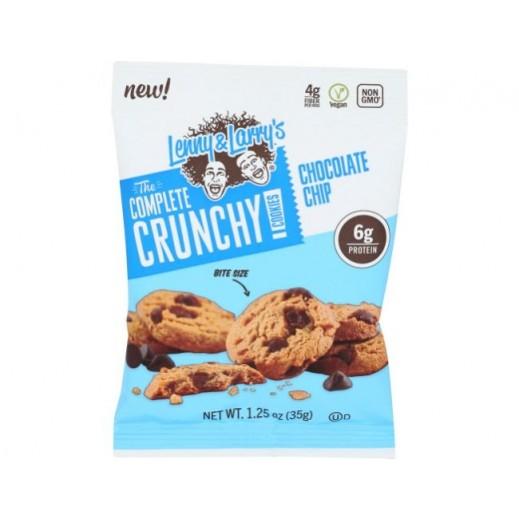 ليني & لاريز – كوكيز كرانشي 6 بروتين برقائق الشوكولاتة 35 جم