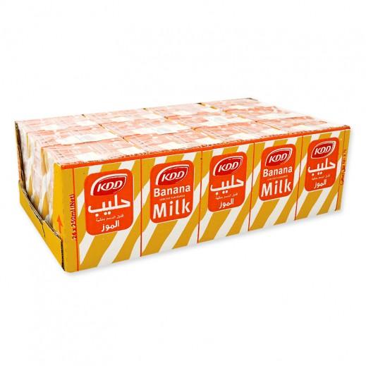 كي دي دي حليب بنكهة الموز 24 x 250 مل