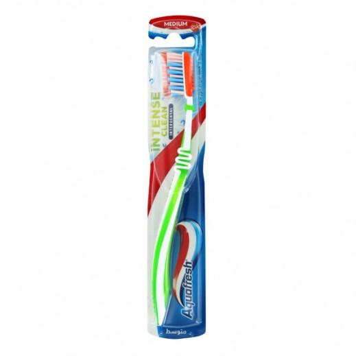 """أكوافريش – فرشاة أسنان """"Clean & Interdental"""" الكثيفة لتنظيف ما بين الأسنان - متوسطة"""
