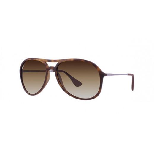"""راي بان – نظارة شمسية """"أليكس"""" لكلا الجنسين موديل RBN 4201 تركواز / بني  مقاس 59 ملم"""