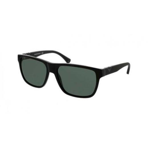 امبوريو أرماني – نظارة شمسية للرجال أسود/رمادي موديل EAR 4035 5017 71 مقاس 58