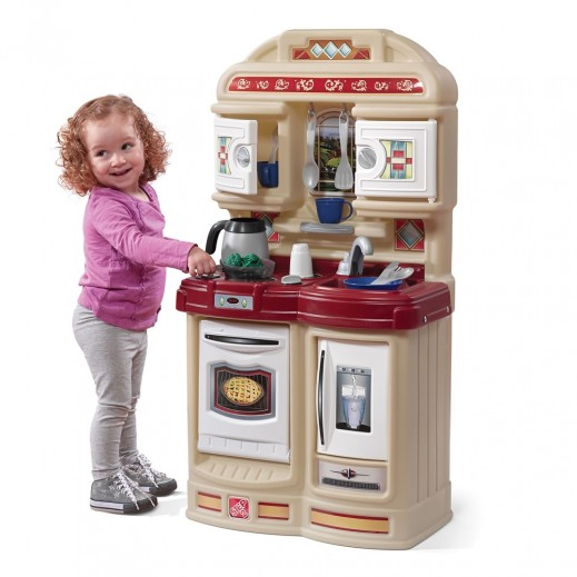 ستيب 2 – المطبخ المرح للأطفال – بيج - يتم التوصيل بواسطة شهاليل خلال 2 أيام عمل