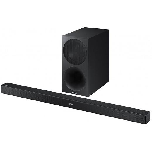 سامسونج – نظام صوتي لاسلكي 2.1 قناة 320 واط - اسود - يتم التوصيل بواسطة AL ANDALUS TRADING COMPANY