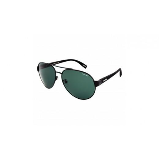 شوبارد - نظارة شمسية Aviator للرجال - أسود - 65 مم  - يتم التوصيل بواسطة Waleed Optics