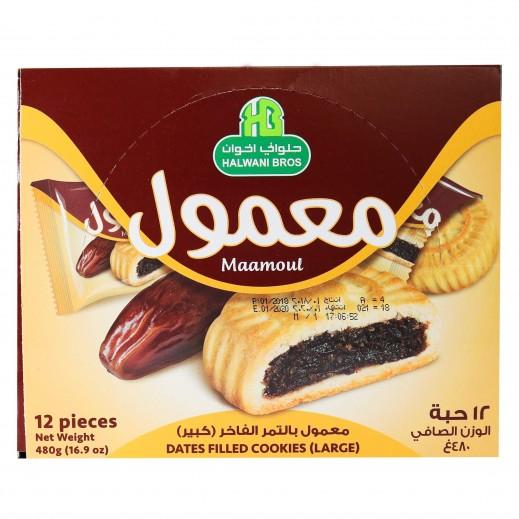 حلواني - معمول بالتمر السعودي الفاخر 12 × 40 جم