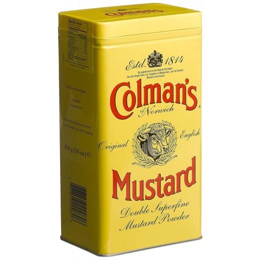 كولمان - مسحوق الخردل الأنجليزية الأصلية 454 جم