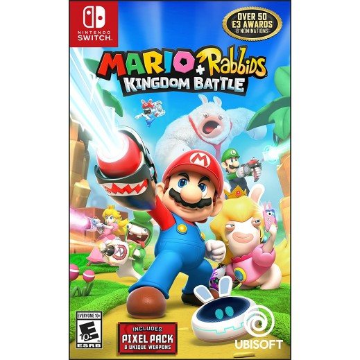 لعبة Mario + Rabbids Kingdom Battle لجهاز نايتندو سويتش – نظام NTSC