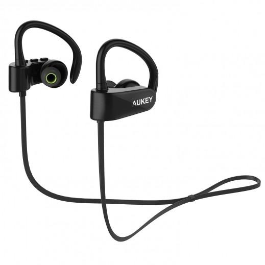 سماعات رأس رياضية AUKEY ستيريو لاسلكية بلوتوث V4.1