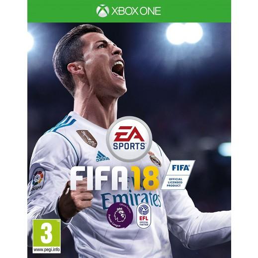 لعبة FIFA 18 لجهاز اكس بوكس ون – نظام PAL (عربي)