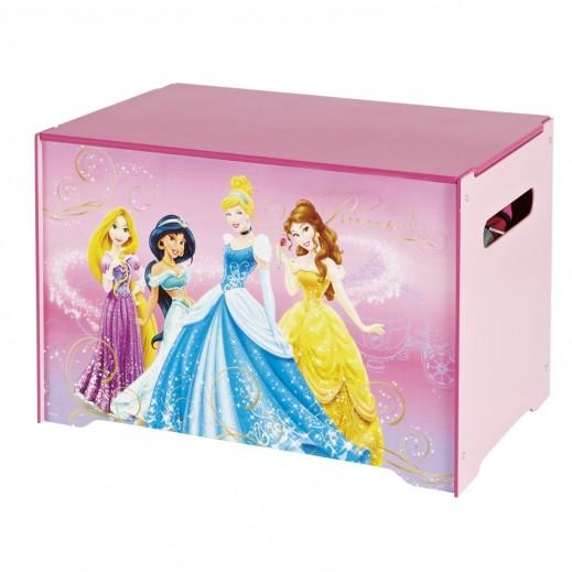 صندوق لتحزين ألعاب الأطفال بتصميم أميرات ديزني - يتم التوصيل بواسطة Taby Group