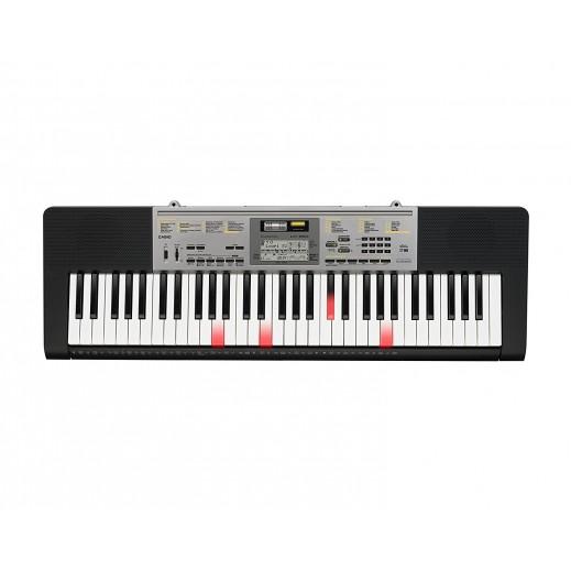 كاسيو – كيبورد موسيقي مع مفاتيح مضيئة 61 مفتاح – اسود - يتم التوصيل بواسطة Salmeen