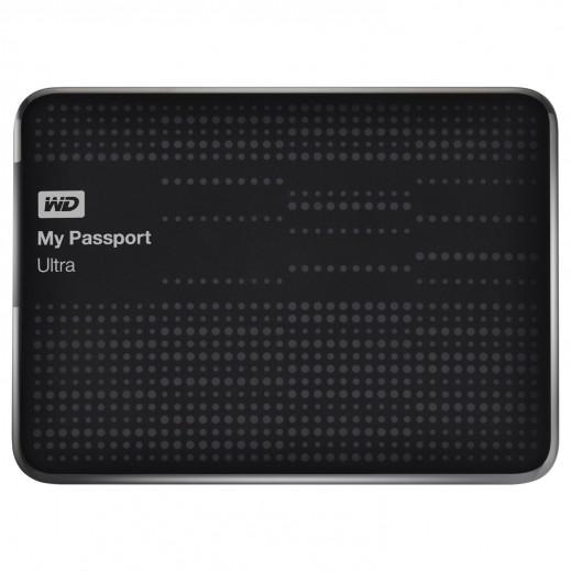 قرص صلب محمول خارجي صغير WD MY PASSPORT ULTRA سعة 2 تيرابايت 2.5  بوصة USB 3.0 رقم WDBBKD0020BBK-EESN