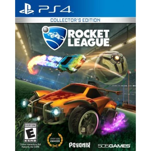 لعبة ROCKET LEAGUE: COLLECTORS EDITION لجهاز PS4 نظام NTSC