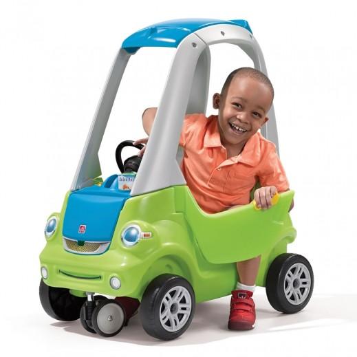 ستيب 2 – سيارة الأطفال كوبيه – أخضر - يتم التوصيل بواسطة شهاليل بعد 3 أيام عمل