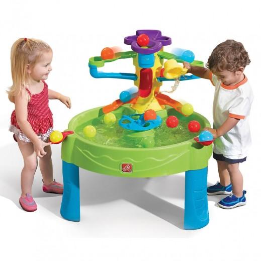ستيب 2 – طاولة الكرات والألعاب المائية للأطفال – أخضر - يتم التوصيل بواسطة شهاليل بعد 3 أيام عمل