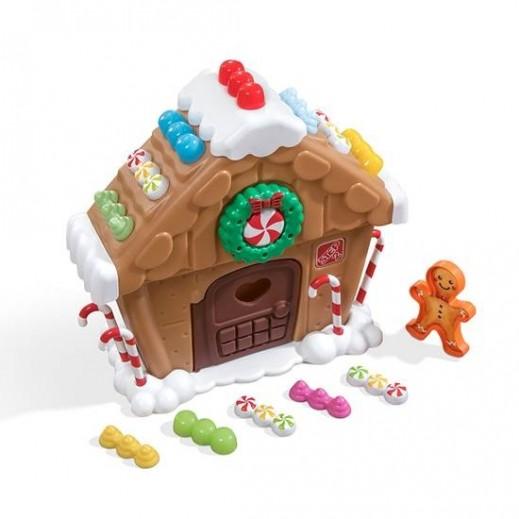 ستيب 2 - مجموعة لعب بيت الزنجبيل للأطفال  - يتم التوصيل بواسطة شهاليل بعد 3 أيام عمل