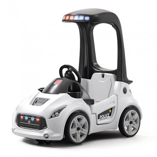 ستيب 2 – عربة شرطة للأطفال كوبيه تيربو – أبيض - يتم التوصيل بواسطة شهاليل خلال 2 أيام عمل