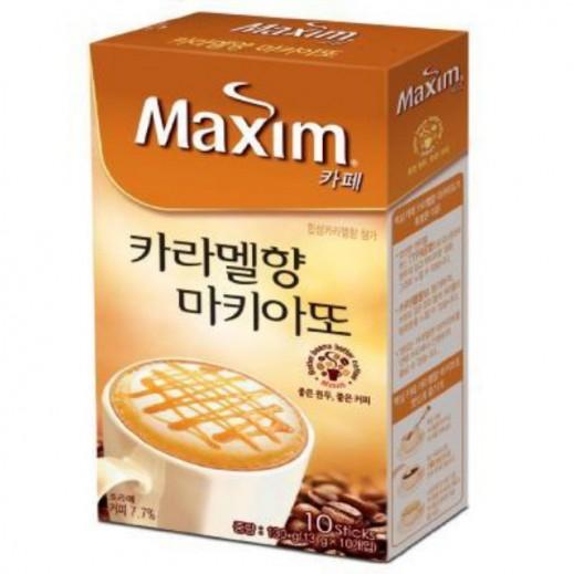 دونجسيو – ماكسيم مزيج قهوة بنكهة ماكيتو الكراميل 10 أكياس