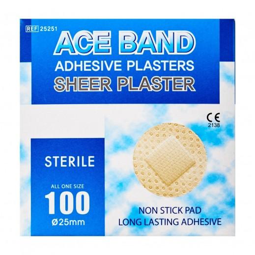بليد - بلاستر ACE شفاف للاسعافات الأولية 100 حبة