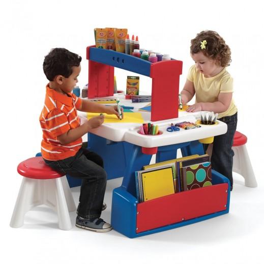 ستيب 2 – طاولة المشاريع المبتكرة - أزرق - يتم التوصيل بواسطة Shahaleel