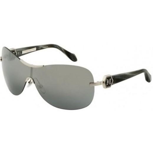 كارولينا هيريرا – نظارة شمسية للسيدات رمادي 99 مم  - يتم التوصيل بواسطة Waleed Optics