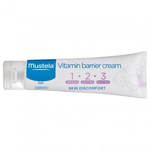 موستيلا - كريم الفيتامين الواقي للرضع من ثلاث خطوات 100 مل