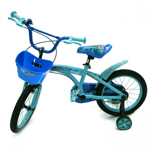 دراجة السنافر - لون أزرق - يتم التوصيل بواسطة Click Toys