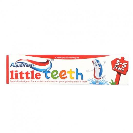 أكوافريش – معجون أسنان للأسنان الصغيرة (3-5 سنوات) – 50 مل