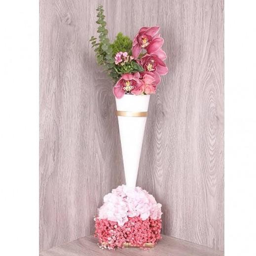 زهور الهيدرنجا مع الجيبسوفيلا  - يتم التوصيل بواسطة Gate Of Flowers