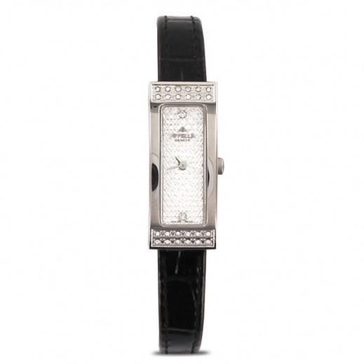 أبيلا – ساعة يد سويسرية  للسيدات  من  الجلد موديل (AP-662.03.1.1.01)