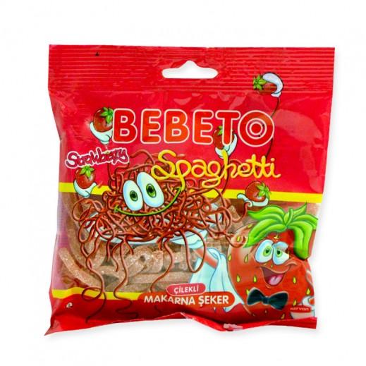 بيبيتو - حلوى طرية علي شكل سباجيتي بنكهة الفراولة 100 جم
